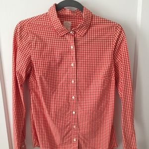 J. Crew Perfect Shirt (Size 4)